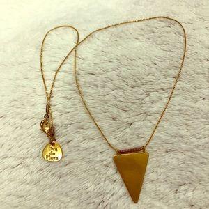 Uva De Playa Triangle Necklace